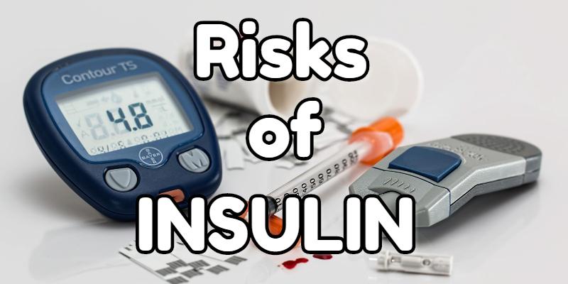 The risks of taking insulin for bodybuilders.