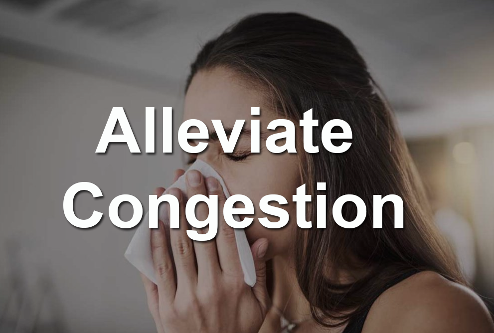 Sleep position to Alleviate congestion